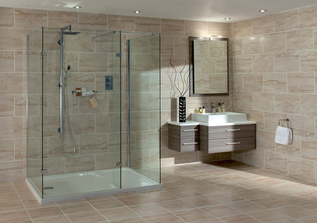 Amusing Bathroom Design Tile Showers Ideas